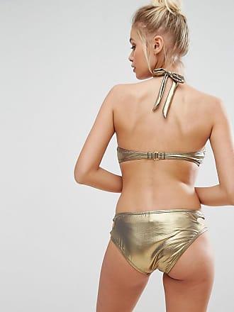 Keyhole Hipster Brief - Graphite The Bikini Lab