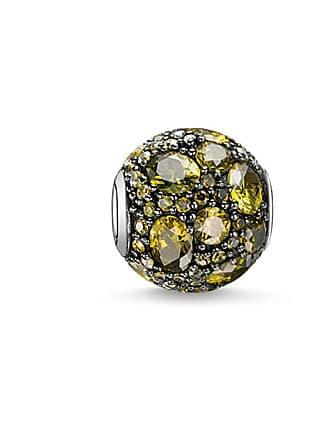 Collares de thomas sabo compra desde 1900 stylight thomas sabo thomas sabo bead planeta verde verde k0103 643 6 aloadofball Choice Image