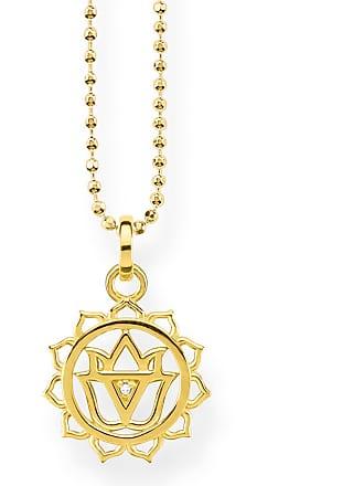 Thomas Sabo Thomas Sabo necklace yellow gold-coloured KE1755-413-39-L45v