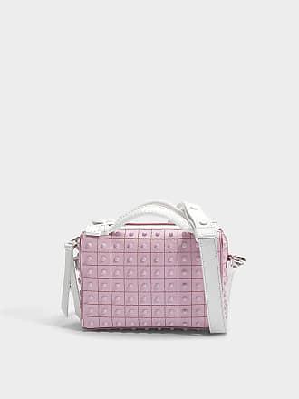 Don Bauletto Micro Gommino Bag in Lilac Crosta Coco Suede Tod's