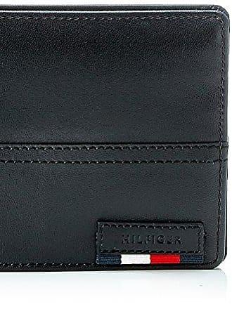 Tommy Hilfiger Th Diagonal Extra Cc & Coin Pocket, Organiseurs de sacs à main homme, (Black), 10x3x13 cm (B x H T)