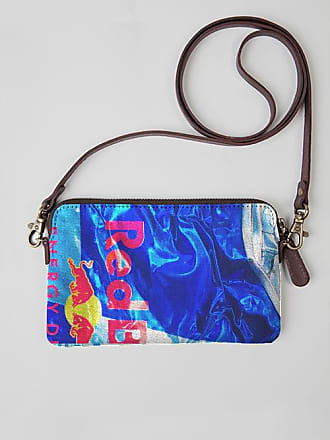 VIDA Leather Statement Clutch - RAIN DANCE by VIDA