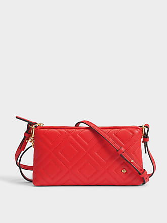 Tory Burch Sac Crossbody Miller en Toile Naturelle