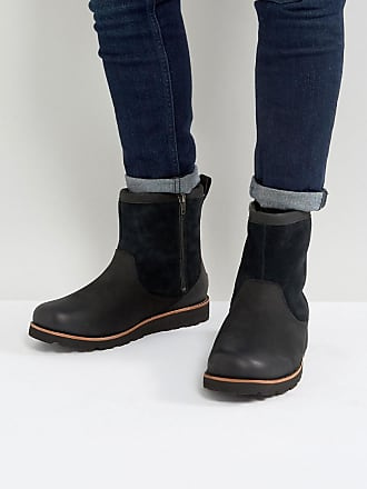 Hendren Treadlite - Bottines imperméables en daim - NoirUGG