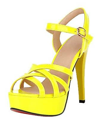 high heels in gelb shoppe jetzt bis zu 58 stylight. Black Bedroom Furniture Sets. Home Design Ideas