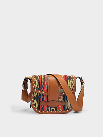 Gemma Crossbody Bag in Sable Linen Vanessa Bruno