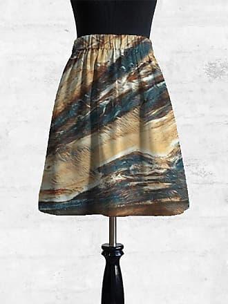 Cupro Skirt - Fall in Abstract by VIDA VIDA