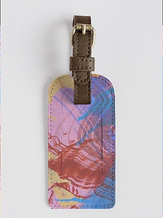 VIDA Leather Accent Tag - Wave Accent Tag by VIDA