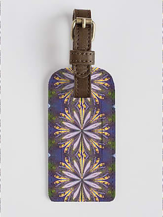 Leather Accent Tag - Golden by VIDA VIDA