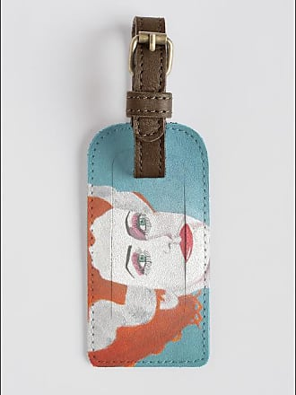 Leather Accent Tag - Mucha Savonnerie tag 2 by VIDA VIDA