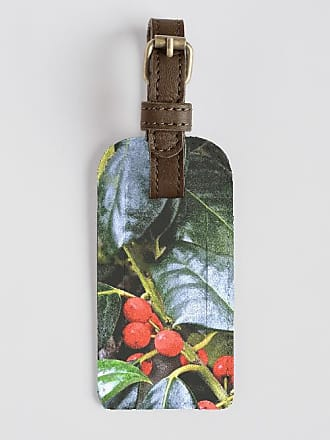 VIDA Leather Accent Tag - Dream of pink flamingos by VIDA
