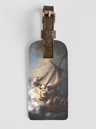 VIDA Leather Accent Tag - The Storm of Galilee by VIDA
