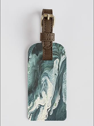 VIDA Leather Accent Tag - waves in the moonlight 3 by VIDA