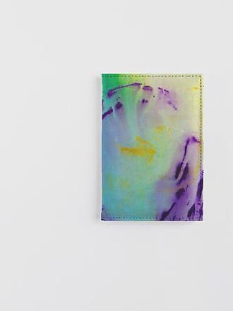 Leather Passport Case - B&W Passport Case by VIDA VIDA