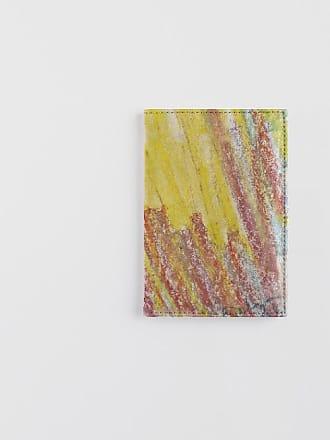 Leather Passport Case - Inside A Rainbow by VIDA VIDA