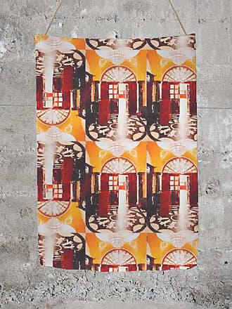 Oversized Merino Wool Scarf - Fireswirl Scarf by VIDA VIDA