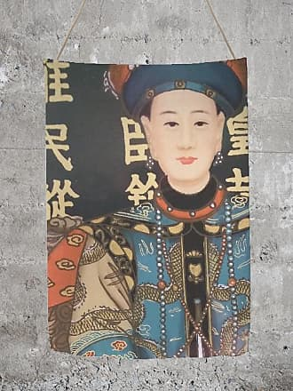 Oversized Merino Wool Scarf - Empress in Blue by VIDA VIDA