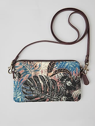 VIDA Leather Statement Clutch - Jungle Time by VIDA