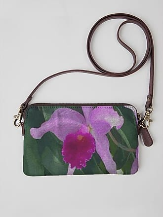 VIDA Leather Statement Clutch - Flying Forms by VIDA