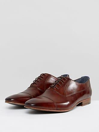 Walk London City Leather Derby Shoes - Black WALK LONDON