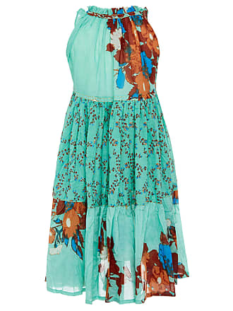 Belted Printed Stretch-Cotton Midi Dress Yvonne Sporre