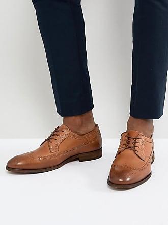 Cuir Fulham Chaussures Moine-bracelet - Brun Foncé Vert Edward