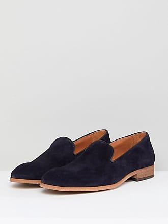 Mocassins Pompon Daim En Noir - Chaussures Noir Zign