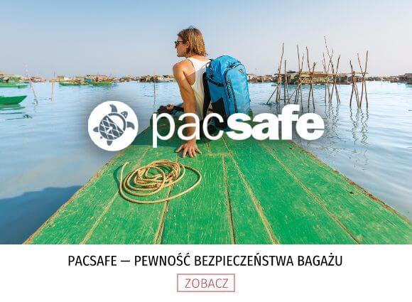 Pacsafe — pewność bezpieczeństwa bagażu