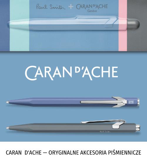 Caran D'Ache — oryginalne akcesoria piśmiennicze