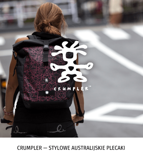 Crumpler — stylowe australijskie plecaki