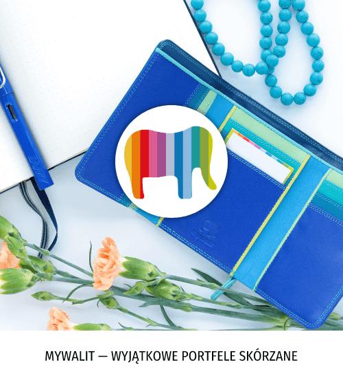 Mywalit — wyjątkowe, kolorowe portfele skórzane
