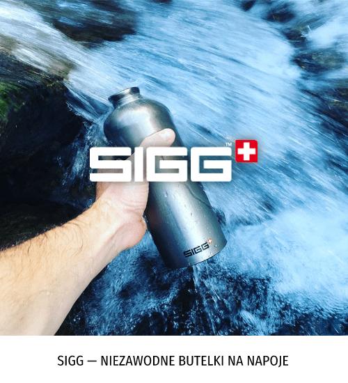 Sigg — niezawodne butelki na napoje
