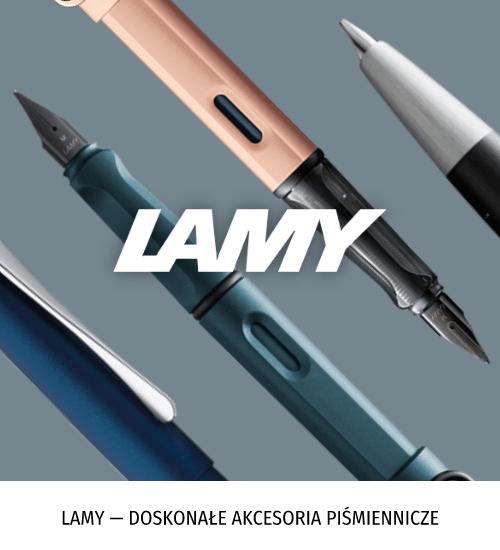 Lamy — doskonałe akcesoria piśmiennicze