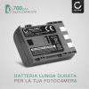 Batteria CELLONIC® NB-2L NB-2LH BP-2L5 per Canon EOS 400D EOS 350D EOS Digital Regel XTi PowerShot G7 G9 PowerShot S50 HG10 Legria HF R16 R106 MD235 VIXIA HV30 ZR800 Affidabile ricambio da 700mAh sostituzione