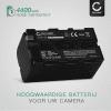 Accu voor Sony TRV130 TRV68 DSR-PD150 DSR-PD170 DSR-PD170 MVC-FD73 - NP-F750,NP-F570,NP-F960 (4400mAh) vervangende accu