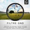 Filtre gradient ND pour Ø 49mm