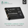 Batterie pour appareil photo Maginon Slim X SZ 10 SW140 SZ125 Z1600 Super Slim XS 60 XS 70 XS 80 - DS5370 700mAh DS5370,D032-05-8023 Batterie Remplacement