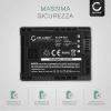 Batteria per Canon LEGRIA HF G10 G25 HF20 HF21 HF200 HG20 HG21 HF M31 - BP-807,-808,-809,-819,-827 (1780mAh) batteria di ricambio