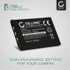 Kamera Akku für Casio Exilim EX-Z75 Z3 Z4 Z5 Z6 Z7 Z11 Z12 Z15 Z18 Z60 Z65 Z70 Z77 EX-S770 S1 S2 S100 - NP-20 NP-20DBA Ersatzakku 700mAh , Batterie