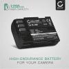 Batteri for Pentax K-3 Pentax K-7 Pentax K-5 Pentax K-01 645D Pentax K-5 II K-5 IIs - D-LI90 (1250mAh) reservebatteri