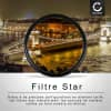 Filtre Étoile pour Ø 72mm (8 Point) Star Filter, Cross Filter