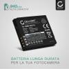Batteria CELLONIC® DMW-BCF10E CGA-S106 CGA-S009 per Panasonic Lumix DMC-FS7 -FS62 -FS6 -FS30 -FS11 -FS10 DMC-FT3 -FT4 -FT1 -FT2 DMC-TS4 DMC-FX40 -FX48 -FX550 -FX66 -FX70, DMC-FH20 Affidabile ricambio da 940mAh sostituzione