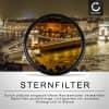 Sternfilter für Ø 77mm (6 Point) Gitterfilter, Kreuzfilter