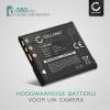 Batterij voor Sony Cyber-shot DSC-WX80 DSC-QX10 DSC-QX100 DSC-TX30 DSC-W830 camera - NP-BN1 580mAh NP-BN1 Vervangende Accu voor fototoestel