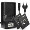2x Batterie pour appareil photo Olympus XZ-1 -10 SP-800UZ -810UZ -720UZ LS-100 SZ-14 -10 -30MR -31MR VR-340 TOUGH TG-870 TG-850 VG-170 - LI-50B 770mAh + Chargeur LI-50C Batterie Remplacement