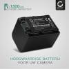 Accu voor Sony FDR-AX100 HDR-CX900 HDR-PJ540 NEX-VG900 NEX-VG30 (1500mAh) NP-FV70