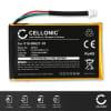 CELLONIC® 010-00621-10, 361-00019-11 GPS-batteri för Garmin nüvi 200 nüvi 250 nüvi 260 nüvi 270 med 1250mAh - navigatorbatteri med lång batteritid