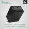 Batteria CELLONIC® NP-FV100 -FV30 -FV70 per Sony HDR-CX625, HDR-CX730 -CX700, HDR-CX570 -CX550, HDR-CX410, HDR-CX330e, HDR-CX280, FDR-AX53 -AX33, HDR-PJ810 -PJ650, NEX-VG900 -VG30, HDR-XR550, DCR-SX34 -SX33, DEV-50V Affidabile ricambio da 3300mAh sostituzione