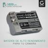 Bateria para camaras Nikon D50 D70s D80 D90 D200 D300 D300S - EN-EL3 EN-EL3e 1600mAh Batería de repuesto