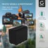 Batterie pour appareil photo Sony HXR-NX100 -NX5 HXR-MC2500 HDR-FX7 -FX1 -FX1000 HVR-Z1 HVR-HD1000 DSR-PD150 -PD170p DCR-VX2100 NEX-ES50M -FS700M GV-D200 - NP-F970 -F96 NP-F550 -F570 -F750 -F770 -F330 6600mAh Batterie Remplacement